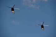 Morten 24 desember 2020 - To militær helikoptre over Høyenhall på juleaften. Men hvilken Skvadron tilhører dem? Vi har 334, 339 og 720 Skvadronen