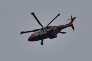 Morten 26 august 2020 - Redningshelikopter over Høyenhall, enda en dag med testflyvning Leonardo AW101 0276 - ZZ107