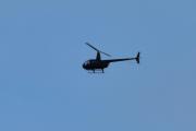 Morten 27 august 2020 - Helikopter over Høyenhall, motlys og litt for langt borte