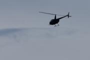 Morten 6 september 2020 - Helikopter over Høyenhall, men det skulle ikke forundre meg om det er Robinson R44 som flyr her