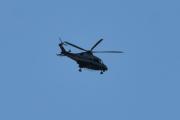 Morten 9 oktober 2020 - Politihelikopter over Høyenhall, så drar den igjen. Kan hende jeg må skaffe meg bedre objektiv til neste år