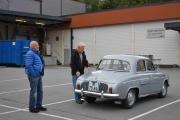 Her ser vi en strøken Renault Dauphine Gordini