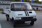 Så kommer en Renault vi ikke har sett før, det er en Renault Trafic