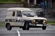 La oss presentere bilen som har fartet langt i sin tid, det er en Renault F4 fra 1983