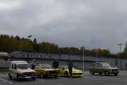 La meg presentere familien med mange Renault-er i Hagen, og nå er vi 5 Renault-er på plassen allerede