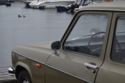 Renault og to Ender i sjøen