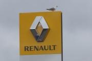 Renaultskilt og en Måke - bilde tatt av Knut