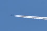 Morten 22 september 2019 - Jetfly over Høyenhall, hvorfor ryker det fra noen store fly og andre ikke?