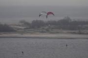 Morten 13 februar 2019  - To flygende objekter i Tyskland - Kiel