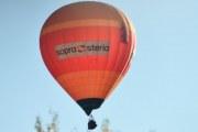 Morten 13 oktober 2019 - Luftballong over Oslo. Det er sopra-steria ballongen igjen som tar seg en tur over Oslo