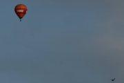 Morten 14 august 2019 - Luftballong over Høyenhall, men vi tar den sammen med en Måke også