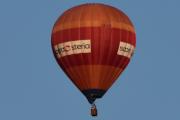 Morten 14 august 2019 - Luftballong over Høyenhall, det er en Ultramagic S.A - ULTRAMAGIC M-120 som er eid av Steria AS