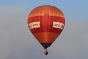 Morten 14 august 2019 - Luftballong over Høyenhall, dem er ute etter Norges beste IT-hoder, men de for ikke mitt