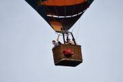 Morten 24 juni 2019 . Luftballong over Høyenhall, så fint at dere kom og besøkte oss nå