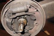Bremsetromler bak