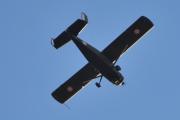 Morten 17 oktober 2020 - LN-WNO over Høyenhall, flyet er et Cessna L-19 Birddog fra 1957