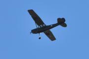 Morten 18 oktober 2020 - Veteranfly igjen over Høyenhall, jeg tok nok feil i sted. Jeg tror det er et Cessna 305 Birddog og da er det flere av dem