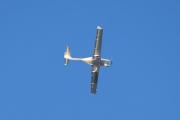 Morten 24 desember 2020 - D-ERDS over Høyenhall, jeg tror årstallet på flyet er 2005 og det er plass til fire stykker i dette lille flyet som er laget av komposittmaterialer