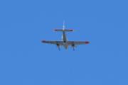 Morten 1 september 2020 - LN-NPZ over Høyenhall, det er et Piper PA-31 med to propeller