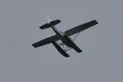 Morten 12 september 2020 - LN-ASB over Høyenhall, det er et Cessna Reims F172M fra 1974 som kommer fra Kilen Sjøflyklubb