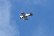 Morten 30 august 2020 - LN-ABA over Høyenhall, det er Van's Aircraft (EX) RV-6