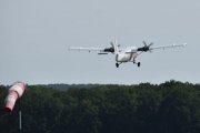 Morten 10 august 2021 - LN-JMP over Tønsberg flyplass som også blir kalt Jarlsberg flyplass, vi ser på et De Havilland Canada DHC-6-200 Twin Otter fra 1968