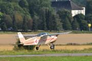 Morten 10 august 2021 - LN-TVI tar av på Tønsberg flyplass, jeg har mange bilder av denne karen også og jeg har sett han på Høyenhall. Men nå kan jeg skrive at det er et Saab-Scania Ab (EX) MFI 9