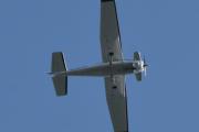 Morten 11 august 2021 - Cessna besøker hytta i Sandefjord, jeg gjetter på at det er en Cessna 172S Skyhawk