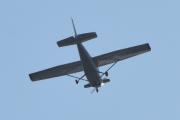 Morten 11 august 2021 - Cessna besøker hytta i Sandefjord, men takk for besøket, nå peker jeg nesa hjemover igjen