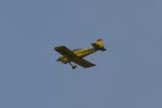 Morten 5 august 2021 - LN-RAF besøker Høyenhall, disse flyene er i byggesett og bygget som selvbyggerprosjekt