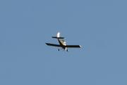 Morten 5 august 2021 - LN-RAF kommer tilbake over Høyenhall, men nå begynner solen og spøke litt her også