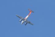 Morten 5 august 2021 - LN-TRG over Høyenhall, det er et Hawker Beechcraft B200 som eies av Sundt Air Holding