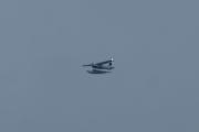 Morten 6 august 2021 - LN-BGO over Høyenhall, det er ikke det helt store været i dag, men jeg ser at det er et sjøfly som kommer