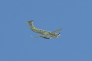 Morten 9 august 2021 - LN-BSF over Sandefjord, flyet er et Hawker Beechcraft B200