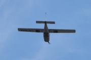 Morten 12 juni 2021 - LN-NAE rett over Høyenhall, det er et Cessna 177RG og er privat eid