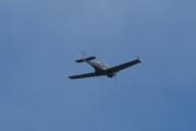 Morten 12 juni 2021 - LN-YJW over Høyenhall, flyet har et vingespenn på 9 m, lengde 6.4m og høyde på 2 meter. Jeg håper vi ser mer av dette flyet :-)