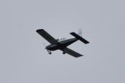 Morten 13 juni 2021 - LN-KLI over Høyenhall, det kommer fra Kjeller og er et Grumman American AA-5B Tiger