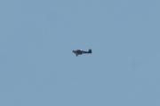 Morten 5 juni 2021 - Ukjent fly rundt Høyenhall, jeg tror det er av typen Piper da den har vingen under kroppen