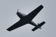 Morten 6 juni 2021 - LN-FWP over Høyenhall, dette er en av de 190 flyene som ble bygget i Tyskland og har vært brukt som skolefly blant annet