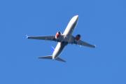 Morten 1 september 2020 - SAS over Høyenhall, stor fly er i gang igjen