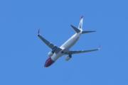 Morten 26 august 2020 - Norwegian over Høyenhall, det begynner å ta seg opp igjen med store fly nå