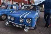 Fredag - Er enda flere biler tydeligvis som skal kjøre rally i morgen så jeg kjører på, dette er en Renault R 1134 8 Gordini som er helt lik den forrige vi tok bilde av