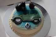 Jeg ble 60 år og ser dere hva som er på kaka som sønnen med partner har ordnet?