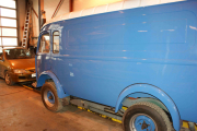 2013 - bilen er inne til restaurering