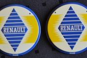 2 stk runde skilt Renault