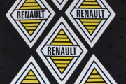 RENAULT STYLE STICKERS RETRO 1959 DAUPHINE FREGATE DOMAINE MANOIR