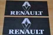 Renault 58,5cm x 24cm Truck Lorry RUBBER MUDFLAPS Mud Flap