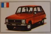 Renault 6 TL merke