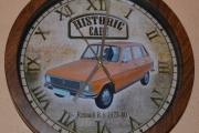 Renault 6 vegg klokke