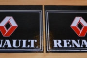 Renault Truck Rear Mudflap Mudguards Mud Flaps Red 60x50cm